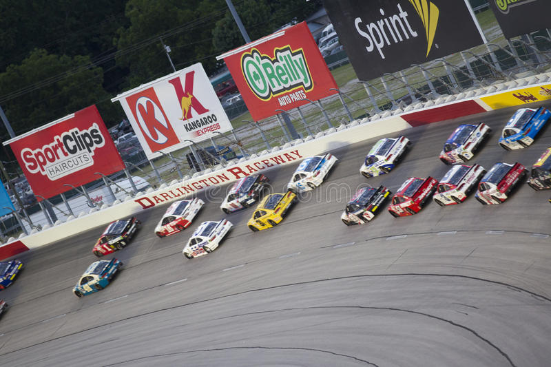 NASCAR : 500 du sud de Bojangles du 6 septembre photographie stock libre de droits