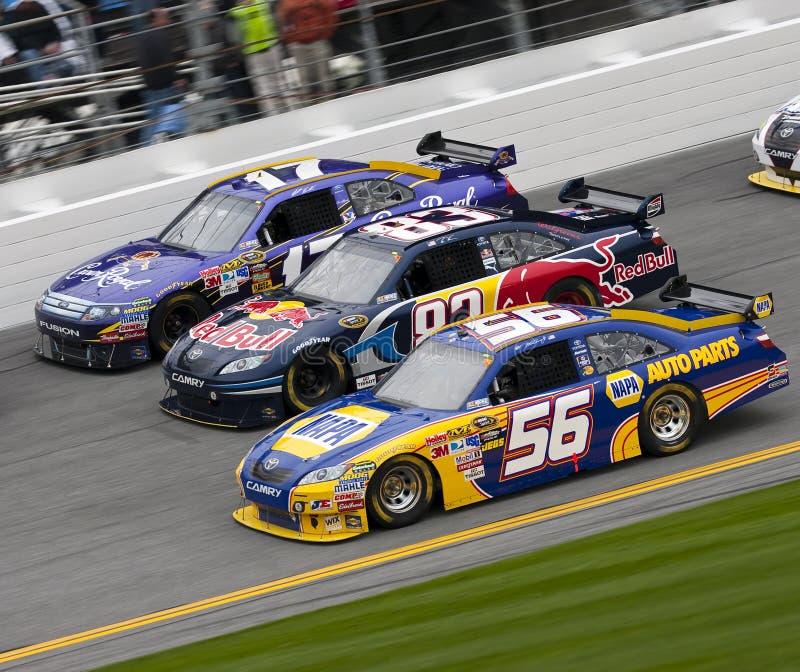 NASCAR : Duel 2 du 11 février Gatorade image libre de droits