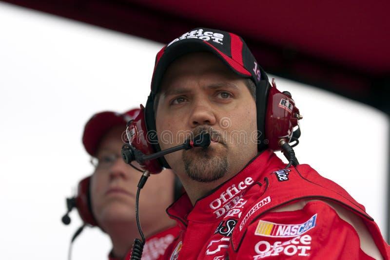 NASCAR : Duel 2 du 11 février Gatorade photographie stock libre de droits
