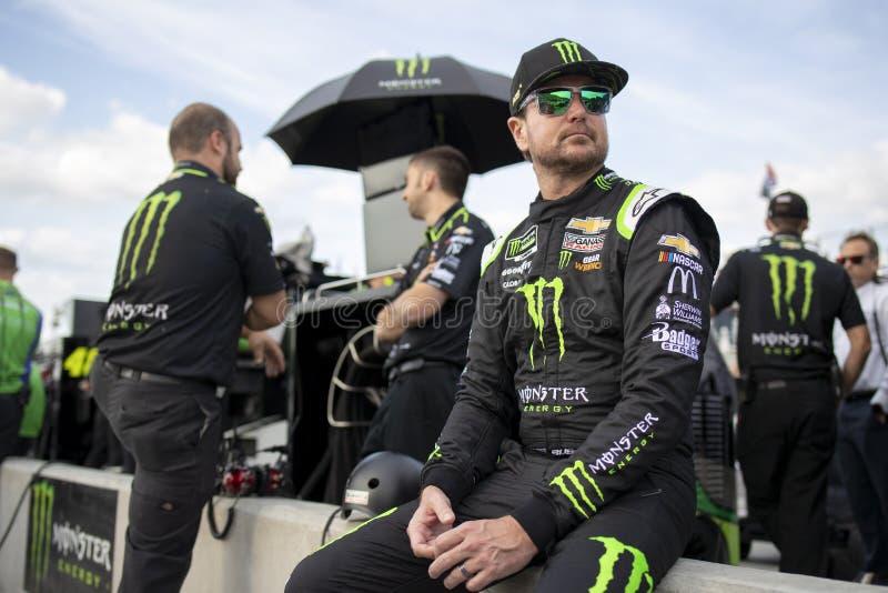 NASCAR: El 3 de agosto va a rodar en la cañada fotos de archivo libres de regalías