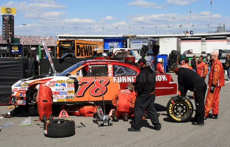 NASCAR - Ennui de véhicule ! photos stock
