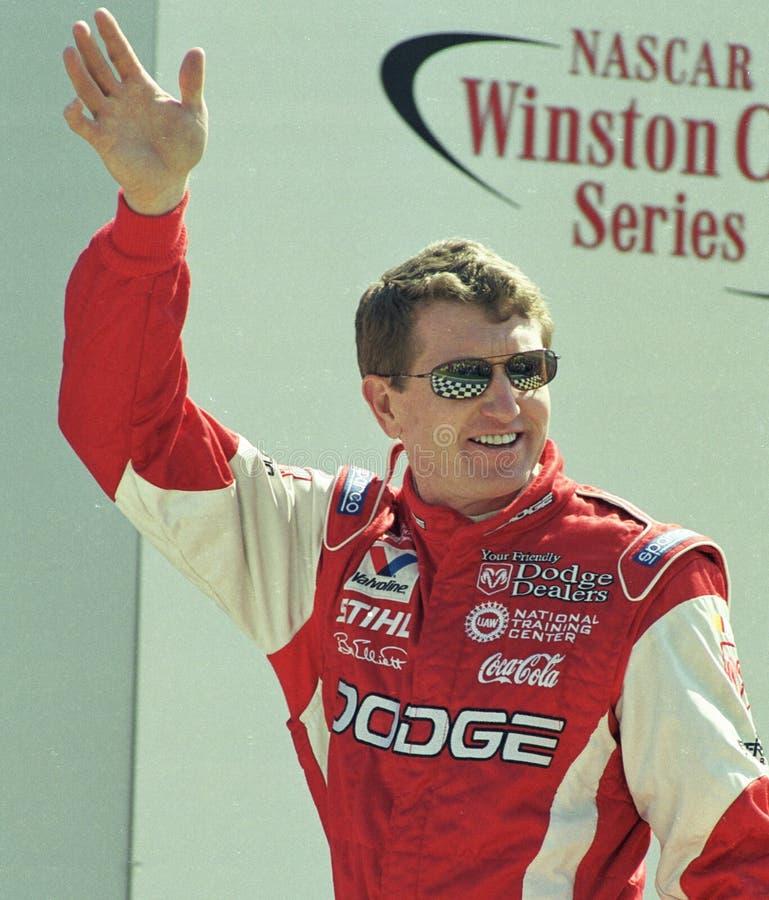 NASCAR-Fahrer Bill Elliott lizenzfreies stockbild