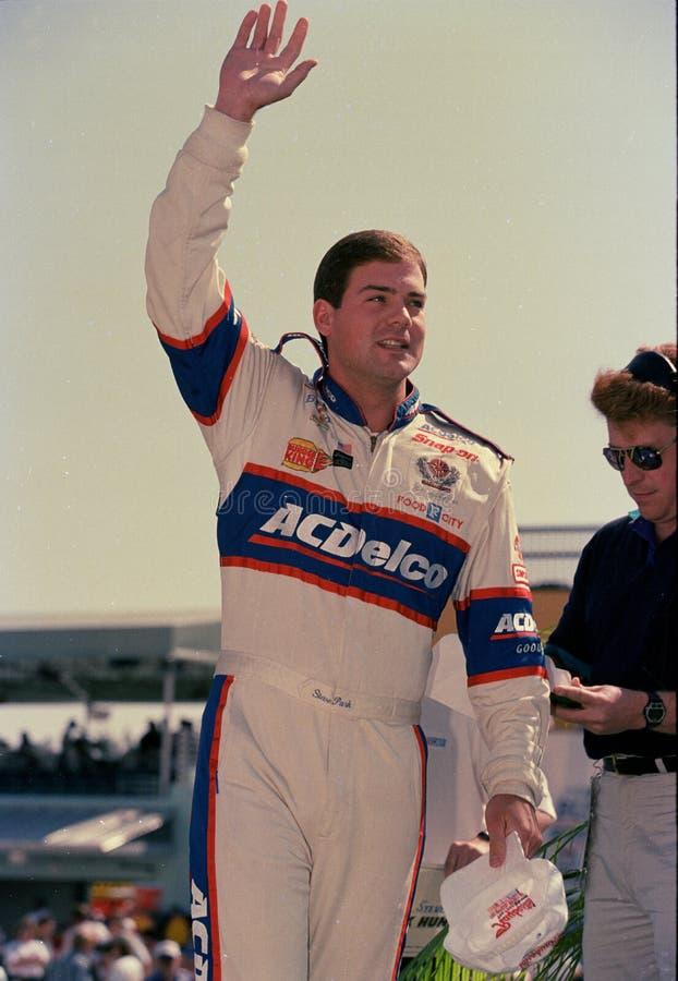 NASCAR-Fahrer Steve Park lizenzfreie stockfotografie