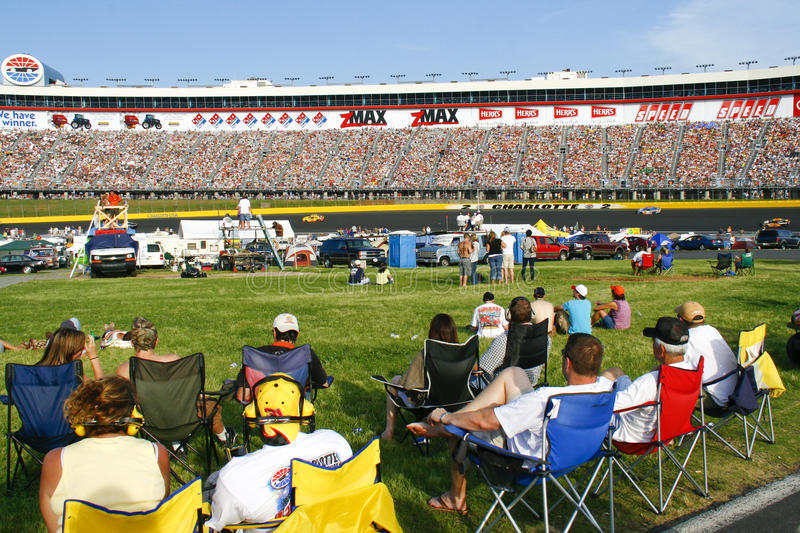 Download NASCAR - Fans In The Infield And Stands Editorial Photo - Image: 16535186