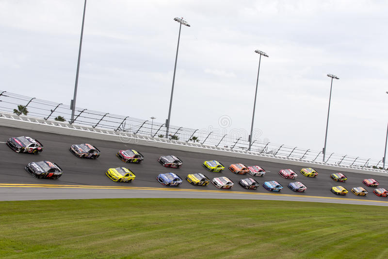 NASCAR: Feb 23 Daytona International Speedway royalty free stock photography