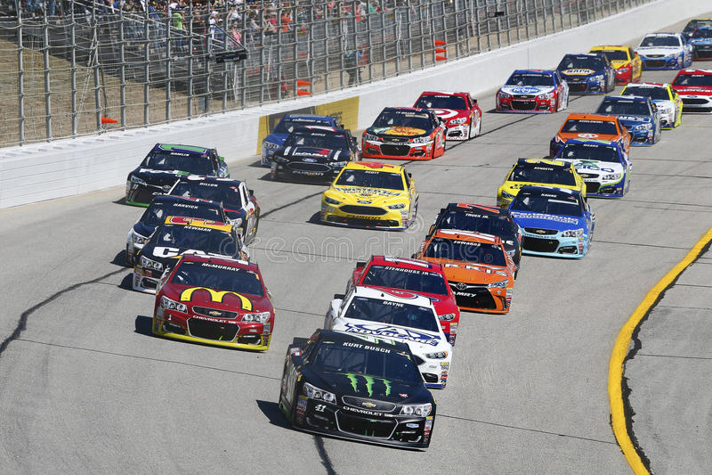 NASCAR: Feb 28 fałdy honor QuikTrip 500 fotografia stock