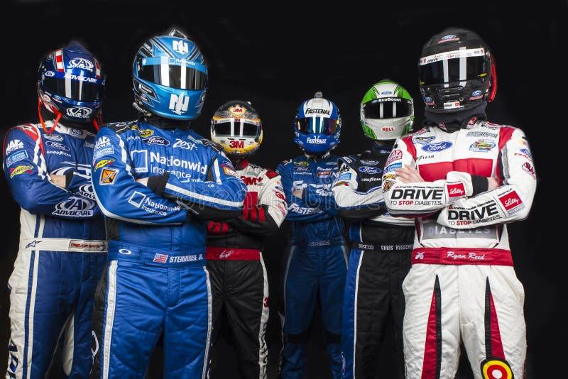 NASCAR:  19 februari Daytona 500 royalty-vrije stock afbeeldingen