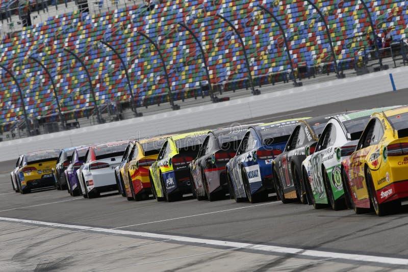 NASCAR: 18 februari Daytona 500 stock fotografie