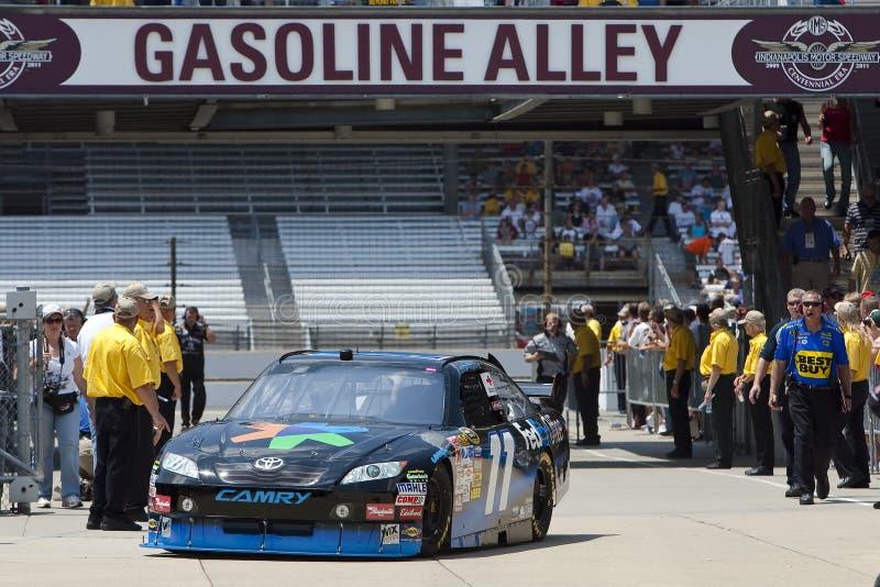 NASCAR: Fedex Allstate 400 bij Brickyard stock afbeelding