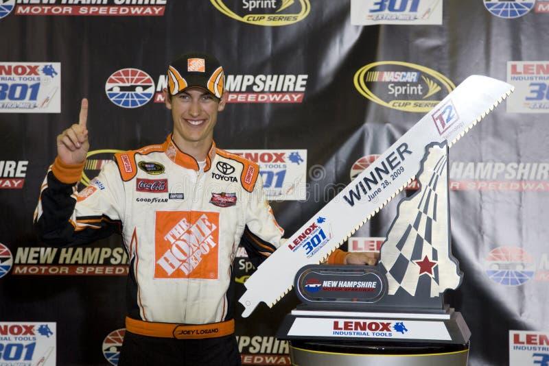 NASCAR: Ferramentas industriais 301 de junho 28 Lenox fotografia de stock royalty free