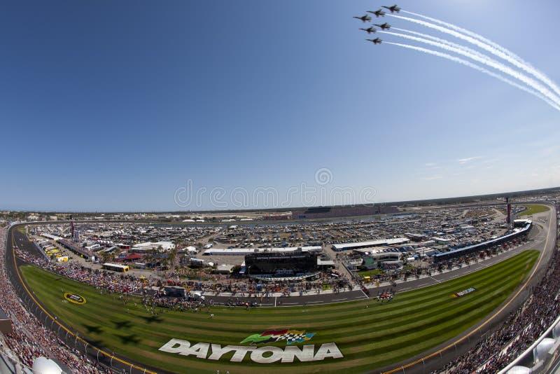 NASCAR: Fevereiro 20 Daytona 500 imagem de stock
