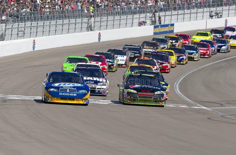 NASCAR: Fevereiro 28 Shelby GT americana 350 imagem de stock royalty free
