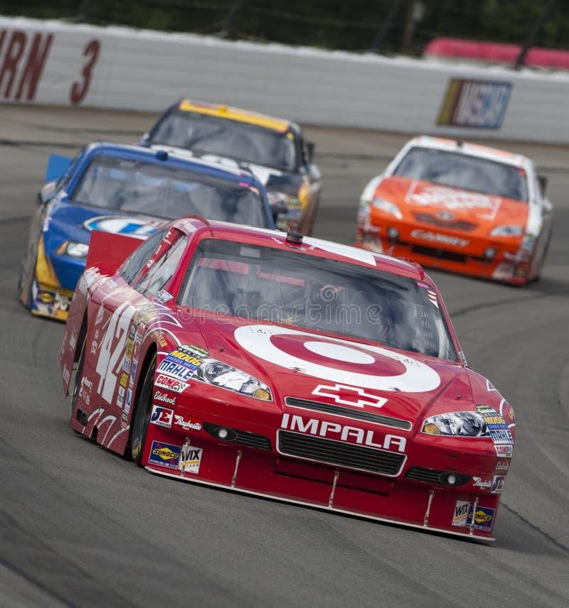 NASCAR: Fusão ProGlide 500 de junho 06 Gillette fotografia de stock
