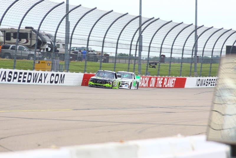 NASCAR Gander Outdoors Truck Series Iowa 2019 24 Brett Moffitt royalty free stock images
