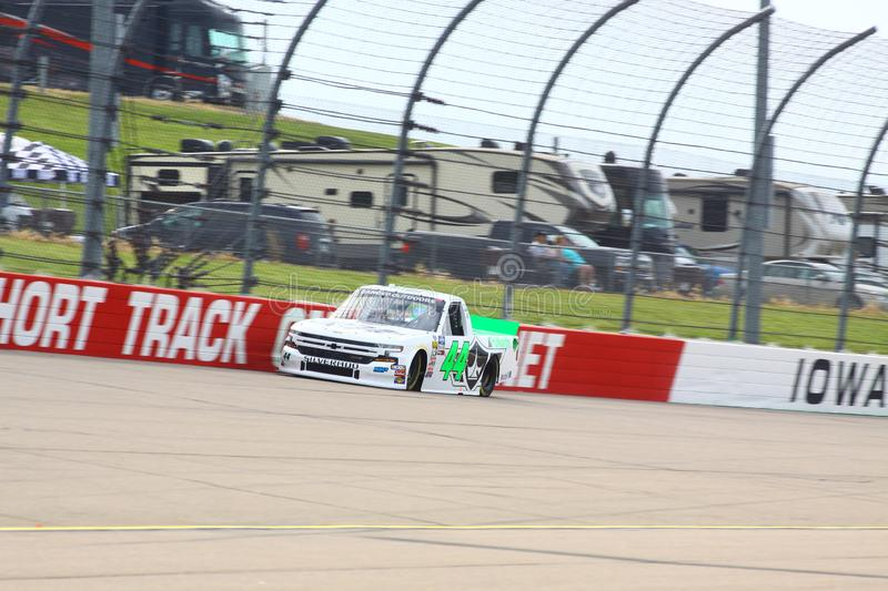 NASCAR Gander Outdoors Truck Series Iowa 2019 royalty free stock photography