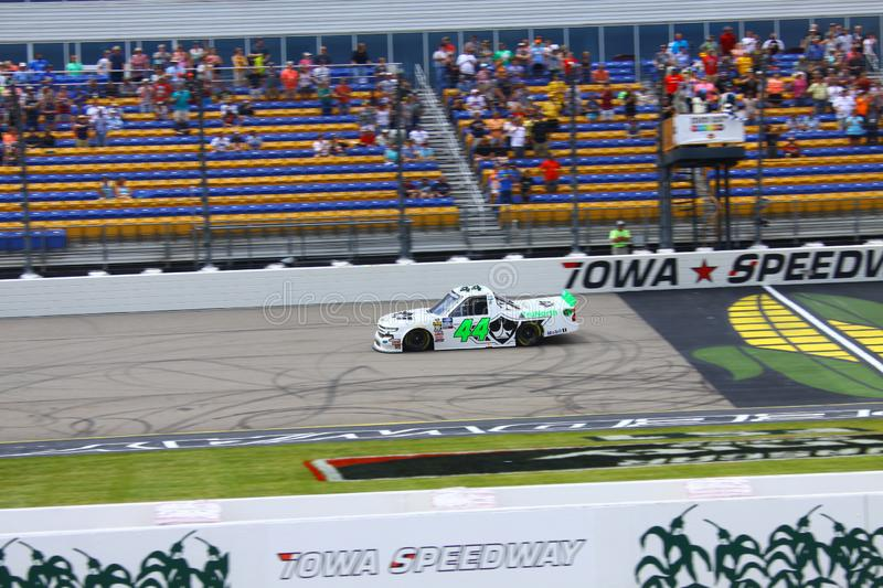 NASCAR Gander Outdoors Truck Series Iowa 2019 stock images