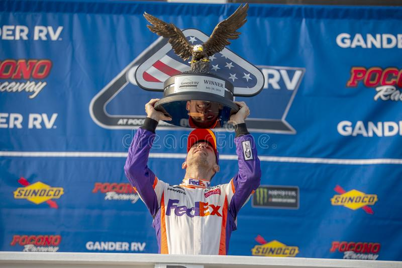 NASCAR: Ganso rv 400 do 28 de julho imagens de stock