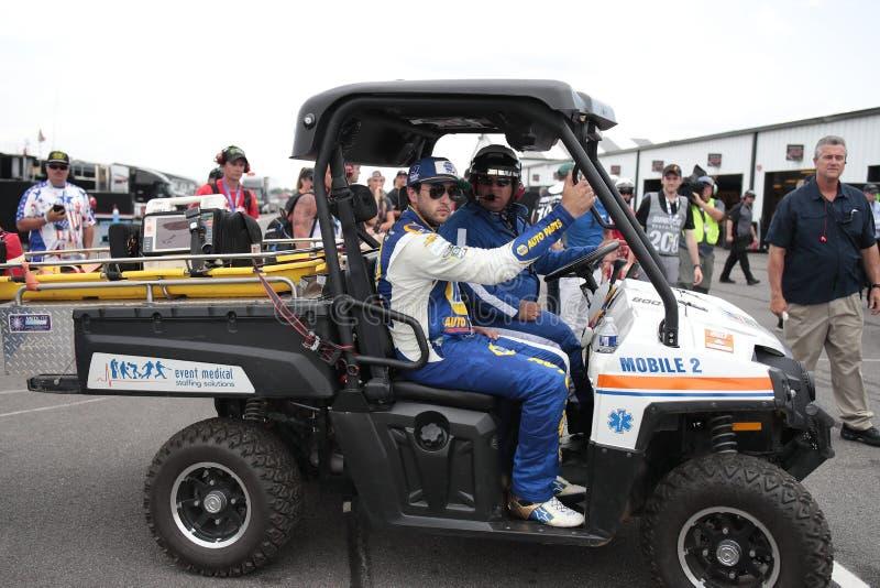 NASCAR: Ganso rv 400 do 28 de julho imagem de stock royalty free
