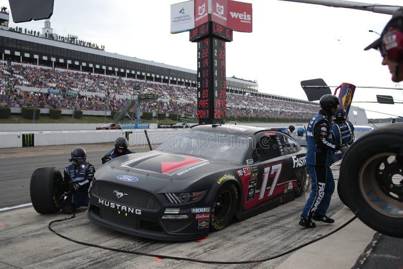 NASCAR: Ganso rv 400 do 28 de julho fotografia de stock