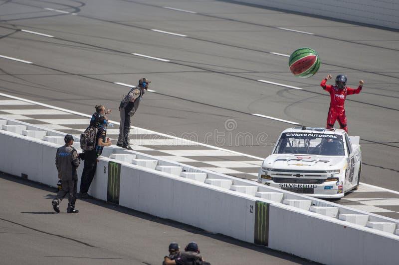 NASCAR: Ganso rv 150 do 27 de julho imagens de stock