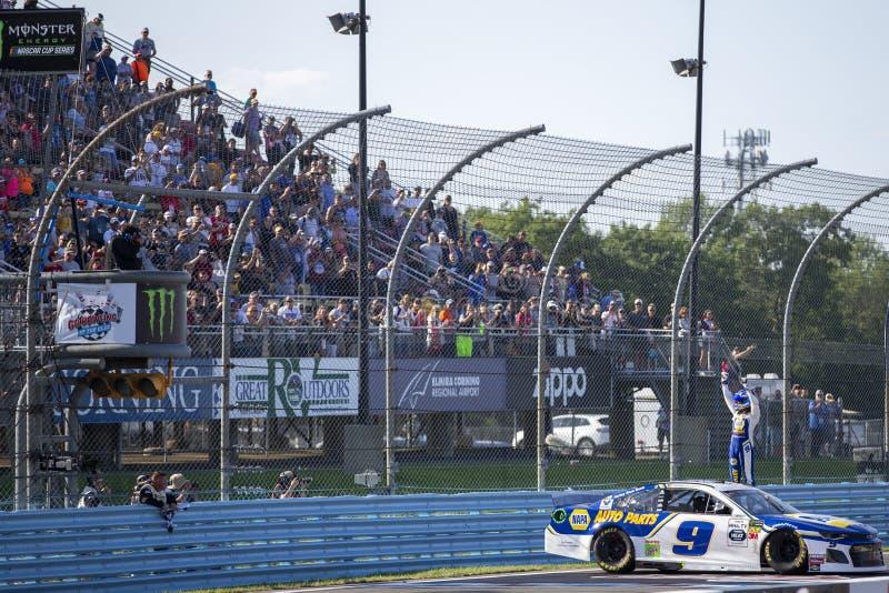 NASCAR: Gehen Sie am 4. August, an der Schlucht zu rollen lizenzfreie stockfotos