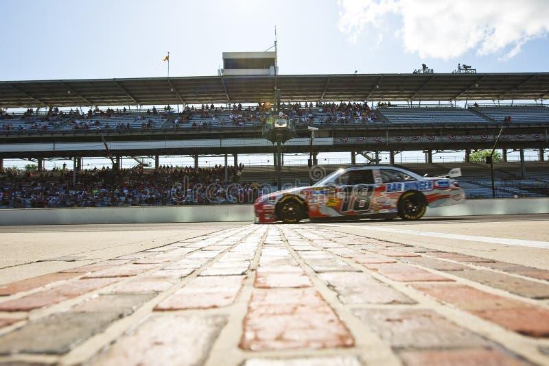 NASCAR: Giechels Toyota Allstate 400 stock afbeeldingen