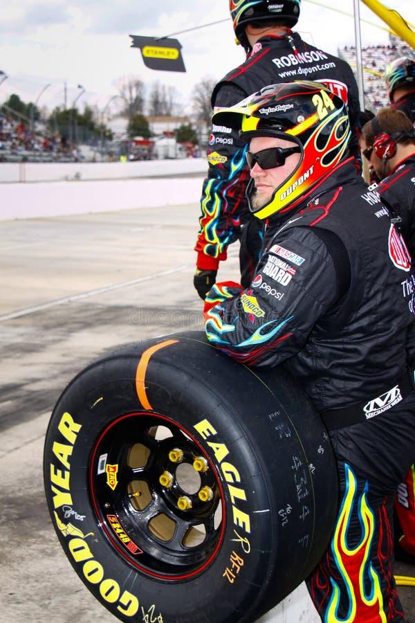 Download NASCAR - Gordon's Rainbow Warrior Pit Crew Editorial Stock Photo - Image: 21302708