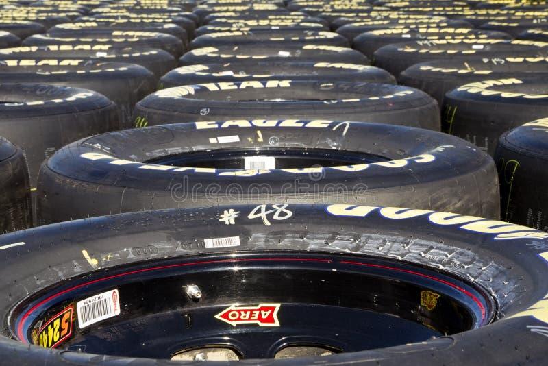 NASCAR: Grandes grampos 300 setembro de 04 fotografia de stock royalty free