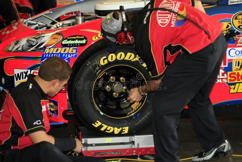 NASCAR - Guerreiros do arco-íris fotografia de stock royalty free