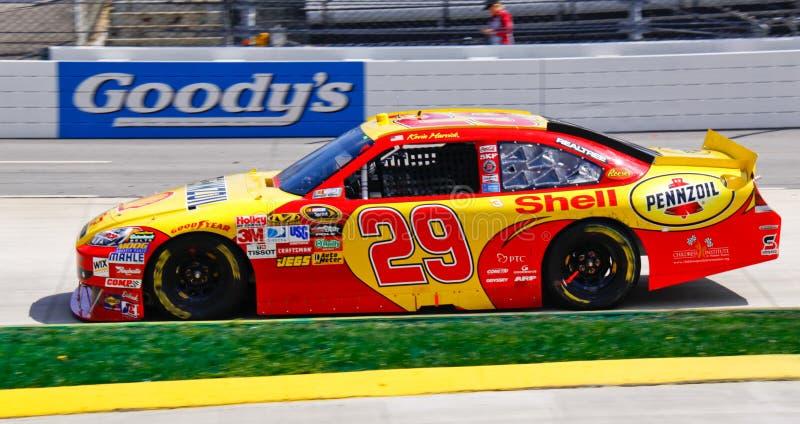 NASCAR Harvick à Martinsville photos stock