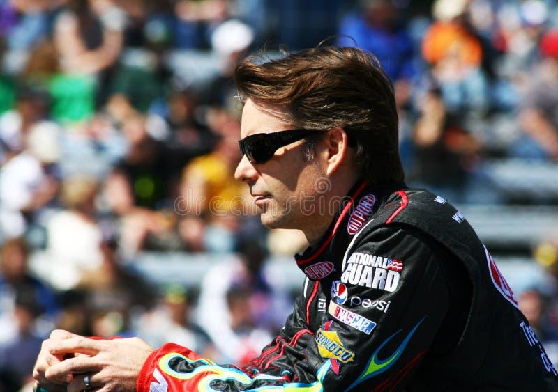 NASCAR - het Gezicht van het Spel van Gordon royalty-vrije stock afbeeldingen