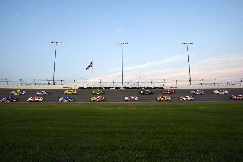 NASCAR: Jalapeno 250 del sottopassaggio del 3 luglio immagine stock libera da diritti