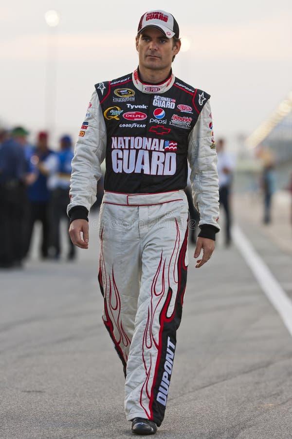 NASCAR: Jeff Gordon LifeLock.com 400 lizenzfreies stockfoto