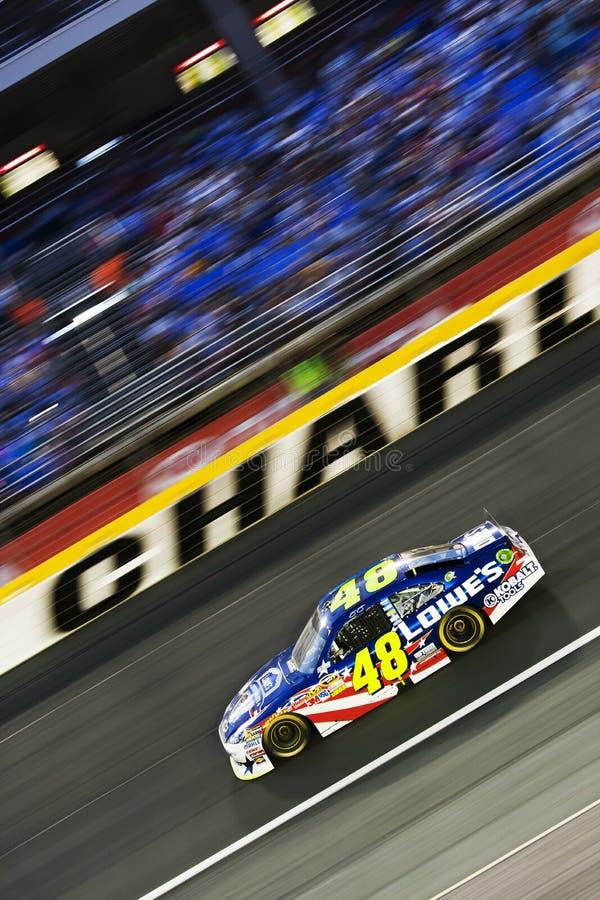NASCAR: Jimmie Johnson stock afbeeldingen