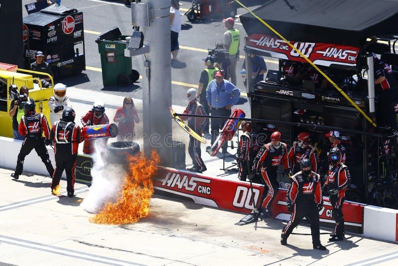 NASCAR: Jogos 300 do planador de Fitzgerald do 14 de abril fotografia de stock royalty free