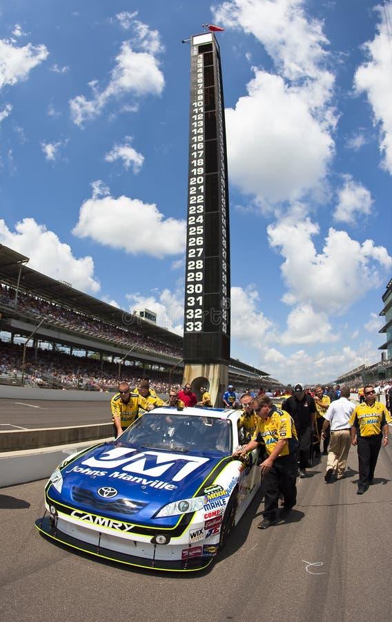 NASCAR: Johns Manville Toyota Allstate 400 royalty-vrije stock afbeelding