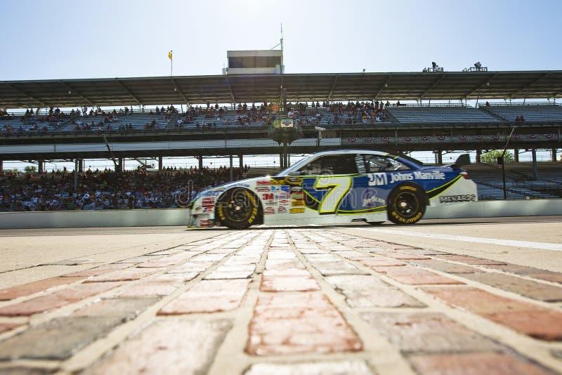 NASCAR: Johns Manville Toyota Allstate 400 royalty-vrije stock foto's