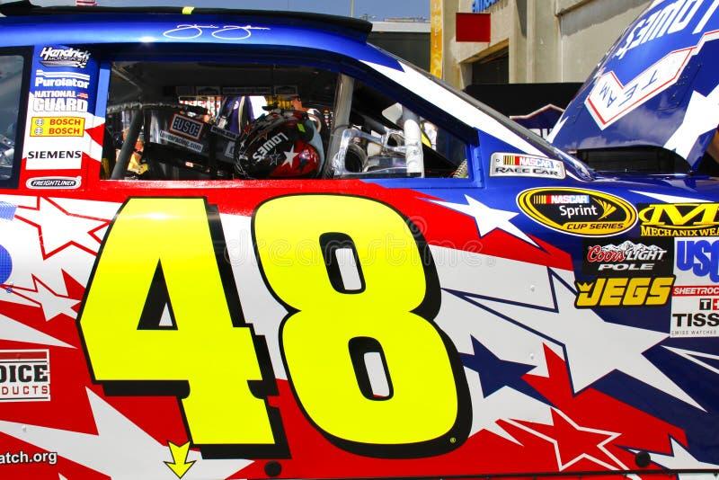 Download NASCAR - Johnson's #48 Door Decal Editorial Photography - Image: 16531837