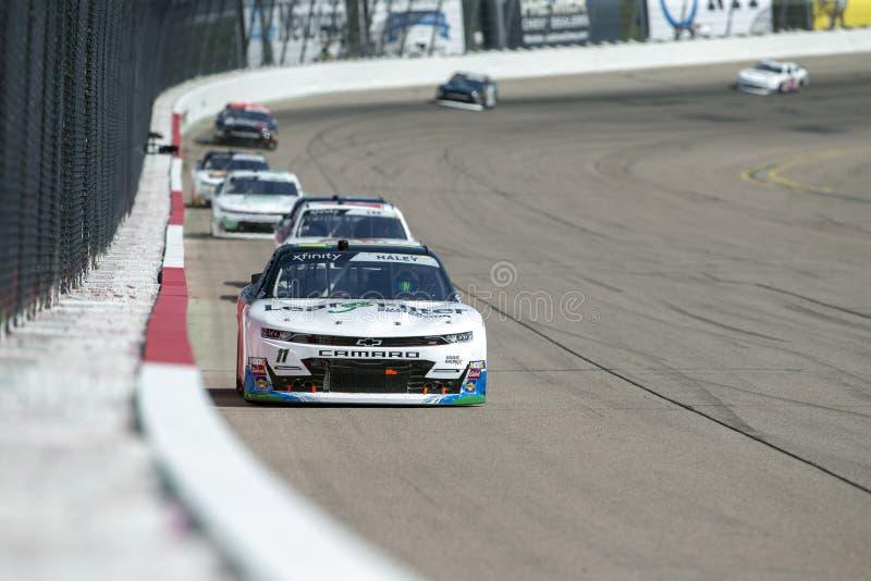 NASCAR : 27 juillet U S 250 cellulaires image libre de droits