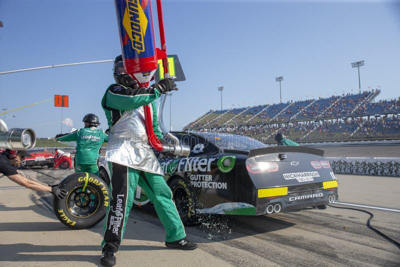 NASCAR : 27 juillet U S 250 cellulaires photos libres de droits