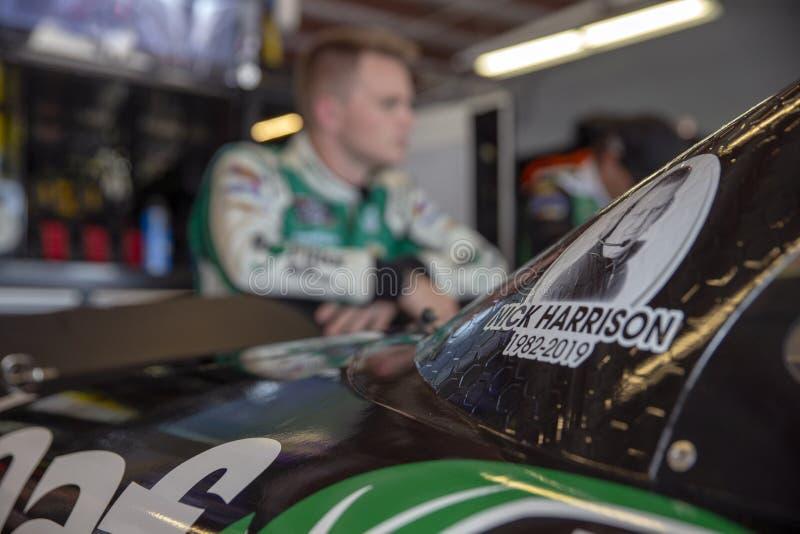 NASCAR : 26 juillet U S 250 cellulaires image libre de droits