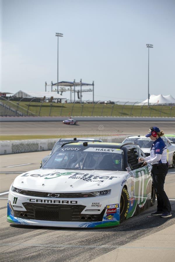 NASCAR : 26 juillet U S 250 cellulaires image stock
