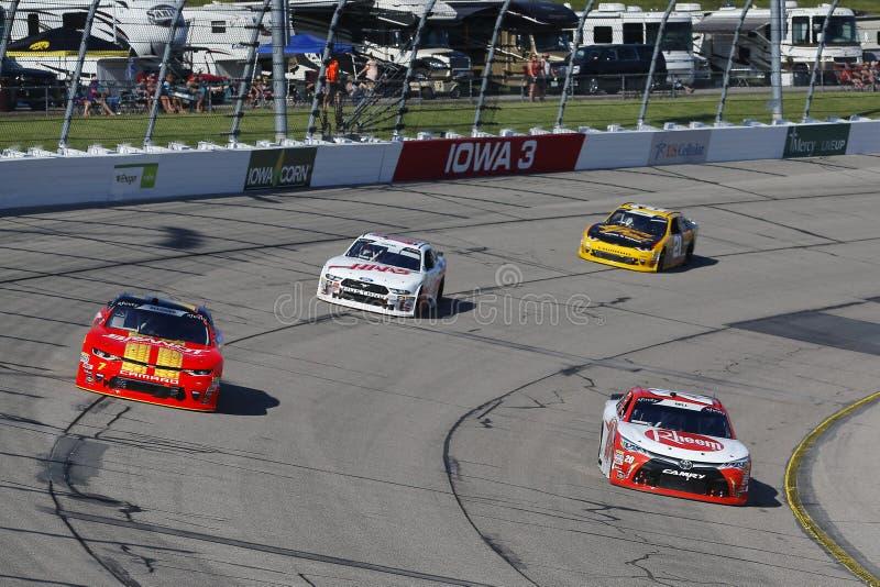 NASCAR : 17 juin Iowa 250 photographie stock libre de droits