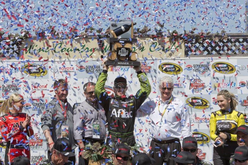 NASCAR : 22 juin Toyota - marché 350 d'économies photo stock