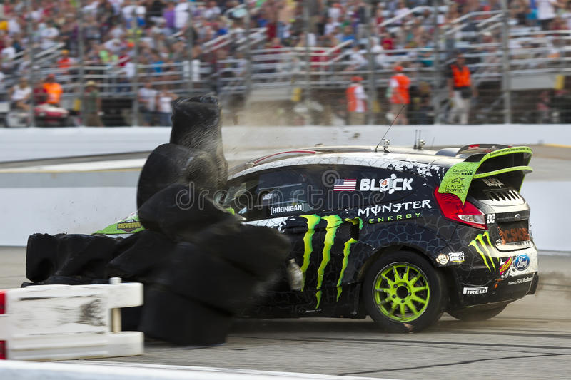 NASCAR:  Jul 14 Global Rallycross Championship Editorial Photo