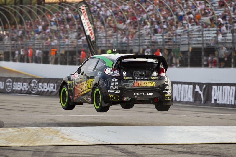NASCAR: Jul 14 Global Rallycross Championship stock photography