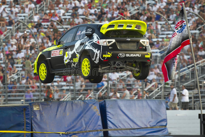 NASCAR: Jul 14 Global Rallycross Championship stock photo
