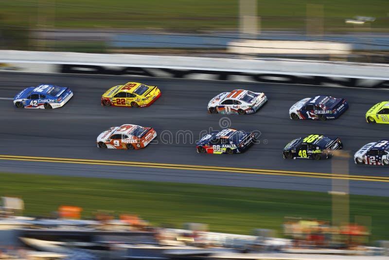 NASCAR: 07 juli Cokes Nul Suiker 400 royalty-vrije stock fotografie