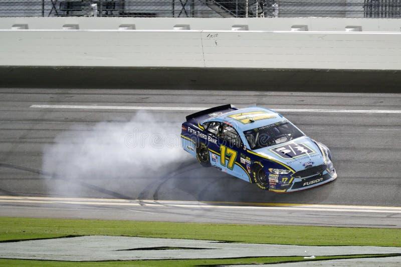 NASCAR: 01 juli Cokes Nul Winnaar 400 stock foto