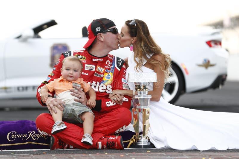 NASCAR: 24 juli Gevecht Gewonde Coalitie 400 royalty-vrije stock afbeeldingen